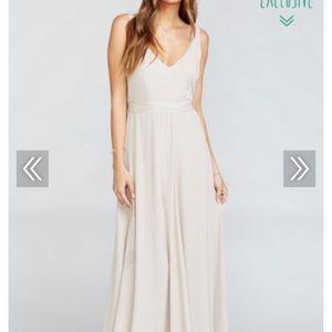 NWT Show me your Mumu Jenn Maxi dress, M